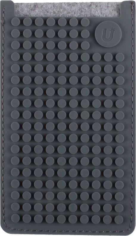 Маленький пиксельный универсальный чехол для смартфона (Pixel felt phone pocket) (Серый)Представляем вашему вниманию маленький пиксельный универсальный чехол для смартфона (Pixel felt phone pocket), имеющий силиконовую панель, на которой с помощью «пикселей» в виде мозаики выкладывается абсолютно любой рисунок.<br>