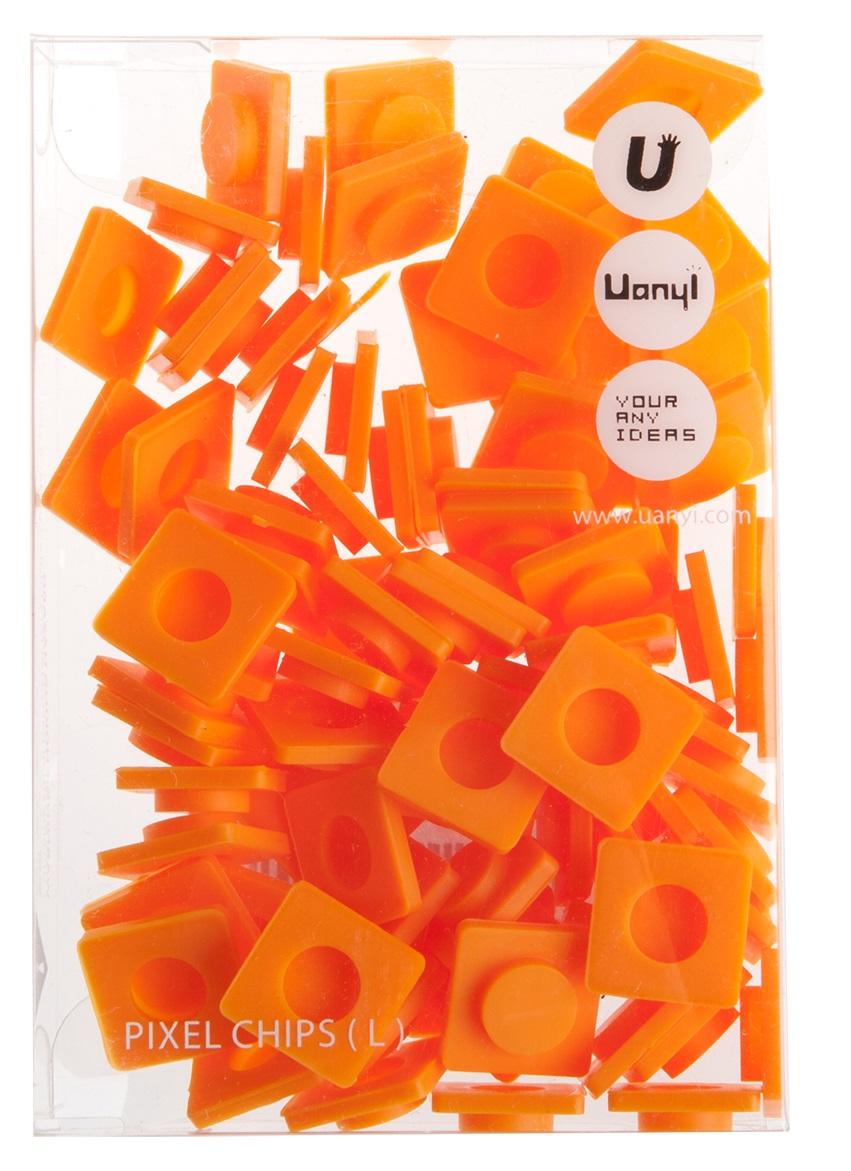 Пиксельные фишки Большие WY-P001 (Pixel Chips Large) (Оранжевый)