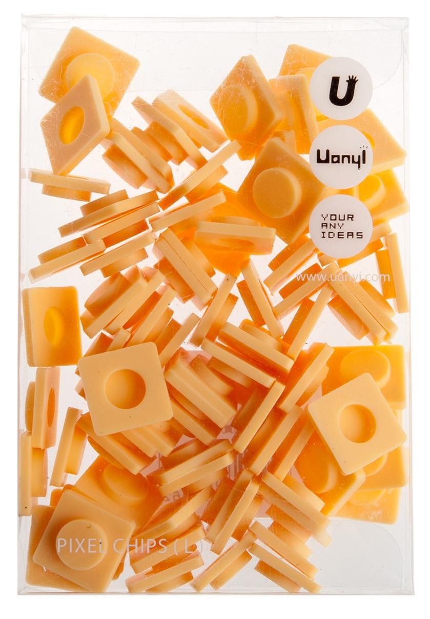 Пиксельные фишки Большие WY-P001 (Pixel Chips Large) (Слоновая кость)