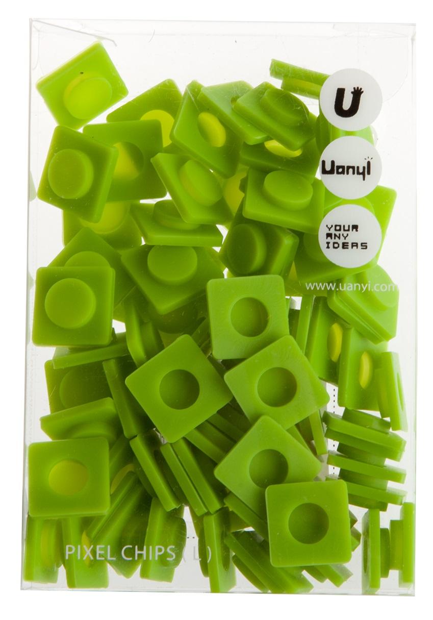 Пиксельные фишки Большие WY-P001 (Pixel Chips Large) (Мятный зеленый)