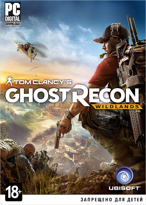 Tom Clancys Ghost Recon: Wildlands (Цифровая версия)Tom Clancy's Ghost Recon Wildlands поднимает серию на новый уровень. Будучи разработанной с нуля для нового поколения, игра может похвастаться великолепной графикой, открытым миром и возможностью сетевого совместного прохождения для четырех человек.<br>