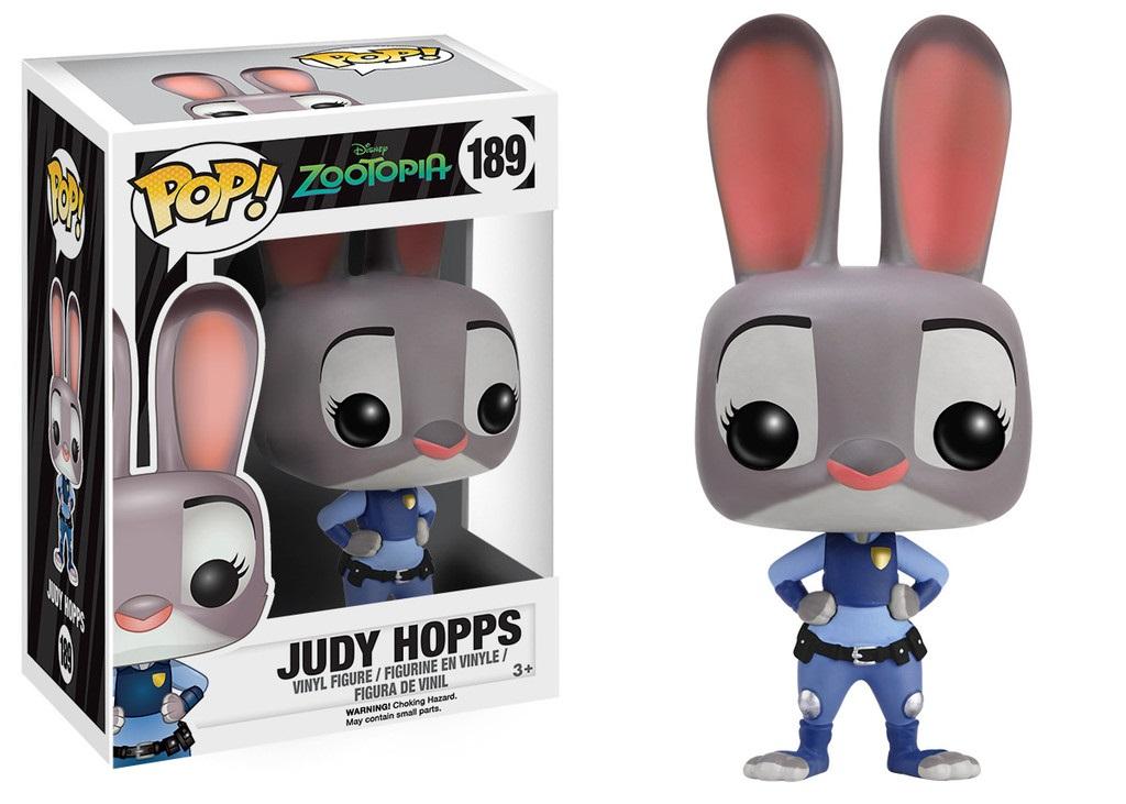 Фигурка Zootopia. Judy Hopps POP (9,5 см)Представляем вашему вниманию фигурку Zootopia. Judy Hopps POP, созданную по мотивам американского мультфильма «Зверополис».<br>