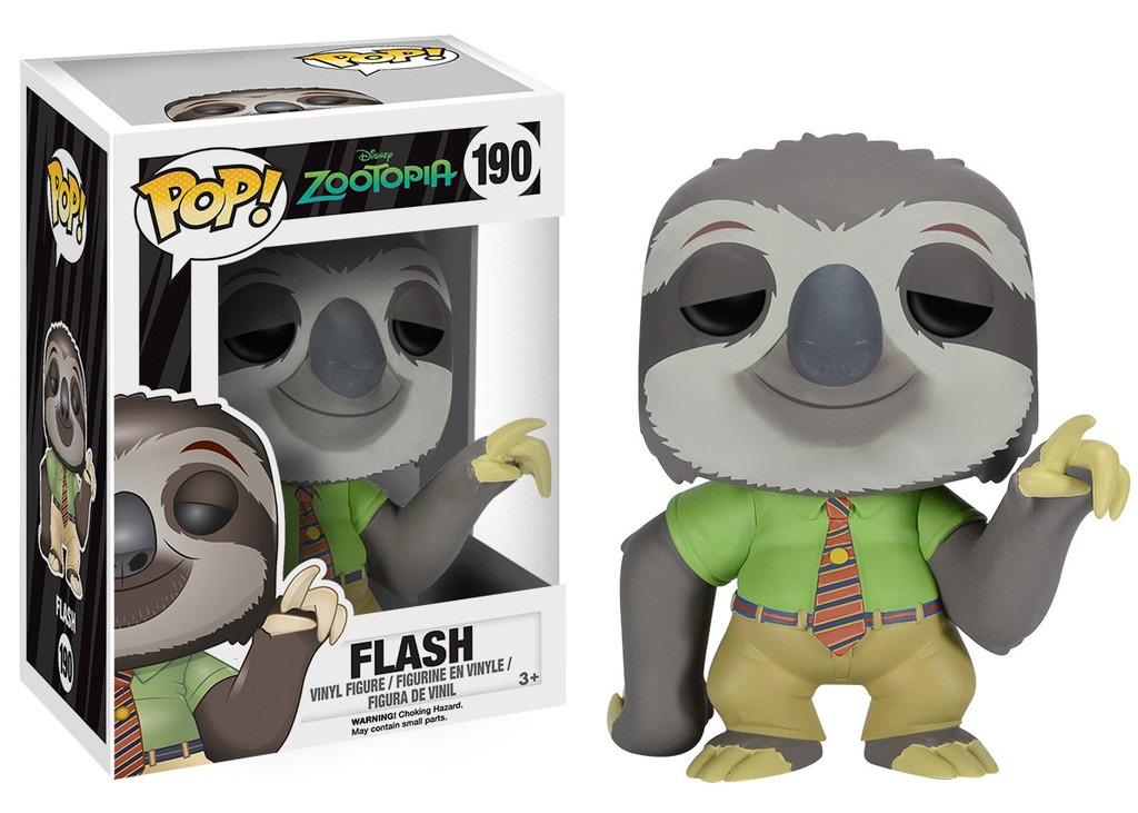 Фигурка Zootopia. Flash POP (9,5 см)Представляем вашему вниманию фигурку Zootopia. Flash POP, созданную по мотивам американского мультфильма «Зверополис».<br>