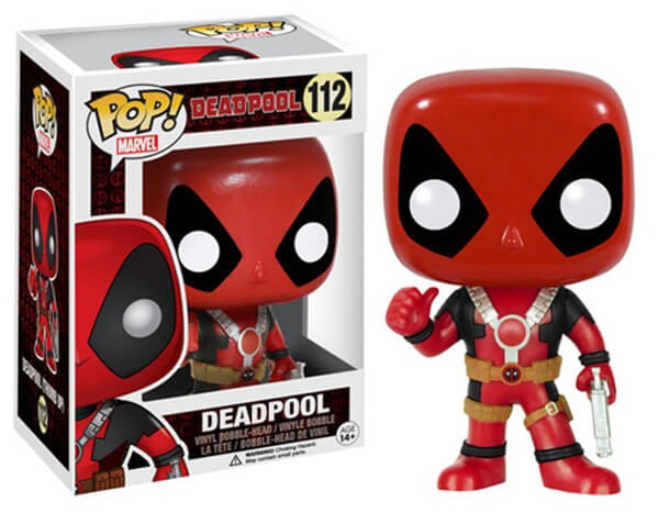 Фигурка Marvel. Deadpool Thumb Up POP (9,5 см) фото