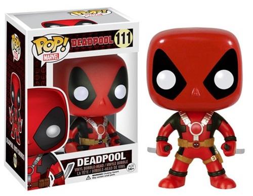 Фигурка Marvel. Deadpool Two Swords POP (9,5 см)