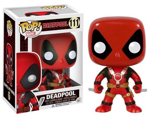 Фигурка Marvel. Deadpool Two Swords POP (9,5 см) фигурка funko pop bobble marvel black panther nakia