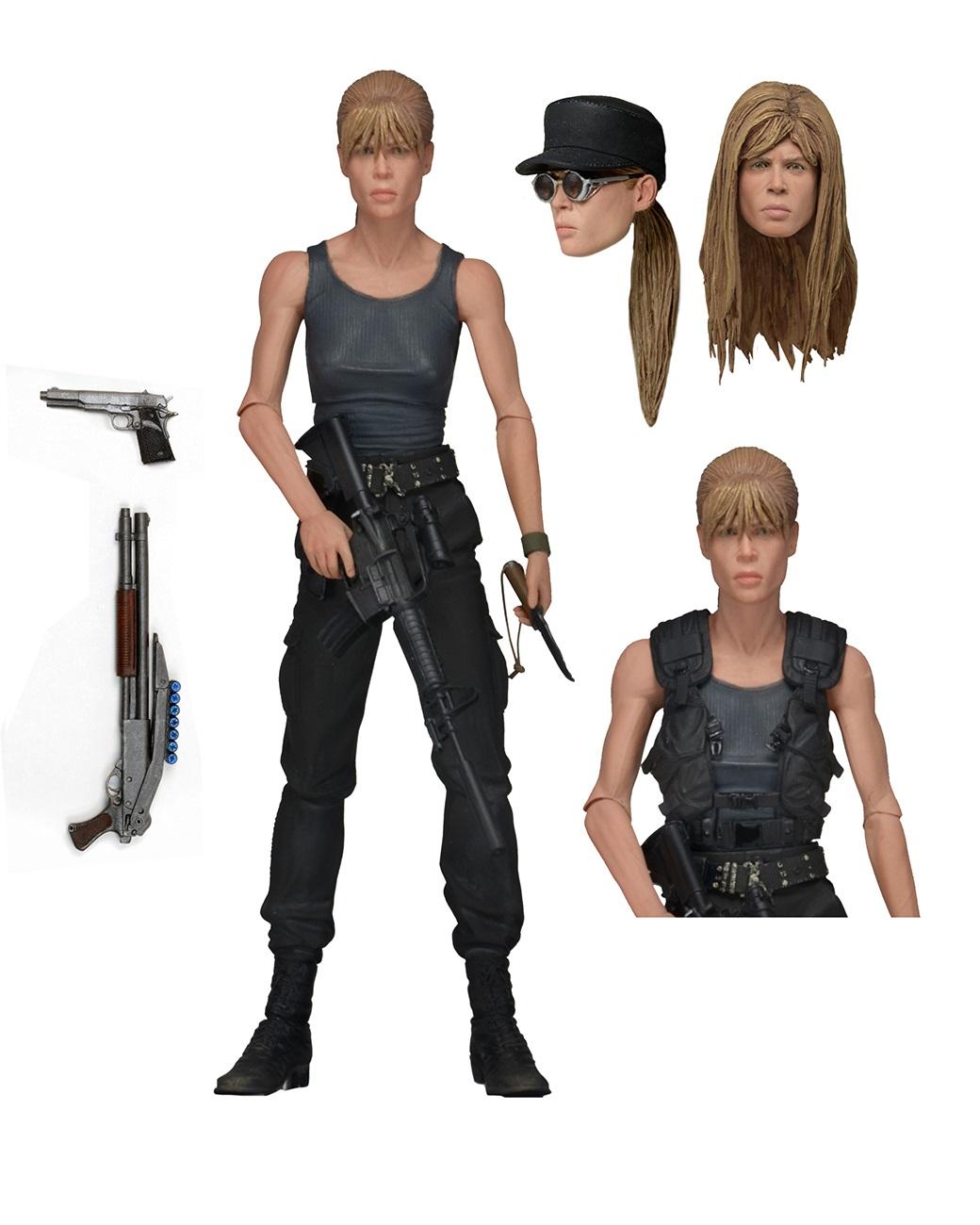 Фигурка Terminator 2 Ultimate Sarah Connor (17 см)Представляем вашему вниманию фигурку Terminator 2 Ultimate Sarah Connor, воплощающую собой Сару Коннор из фильма «Терминатор 2: Судный день».<br>