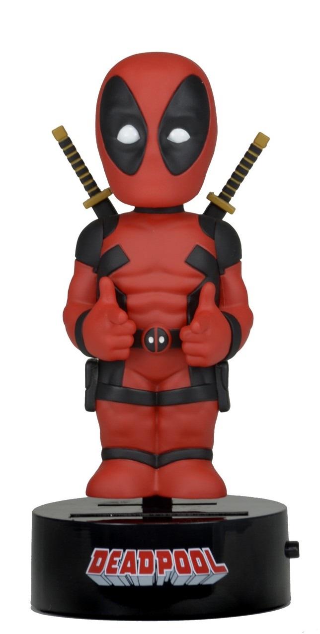 Фигурка на солнечной батарее Marvel. Deadpool (15 см)Представляем вашему вниманию фигурку на солнечной батарее Deadpool, воплощающую собой главного персонажа из фильма «Дэдпул».<br>