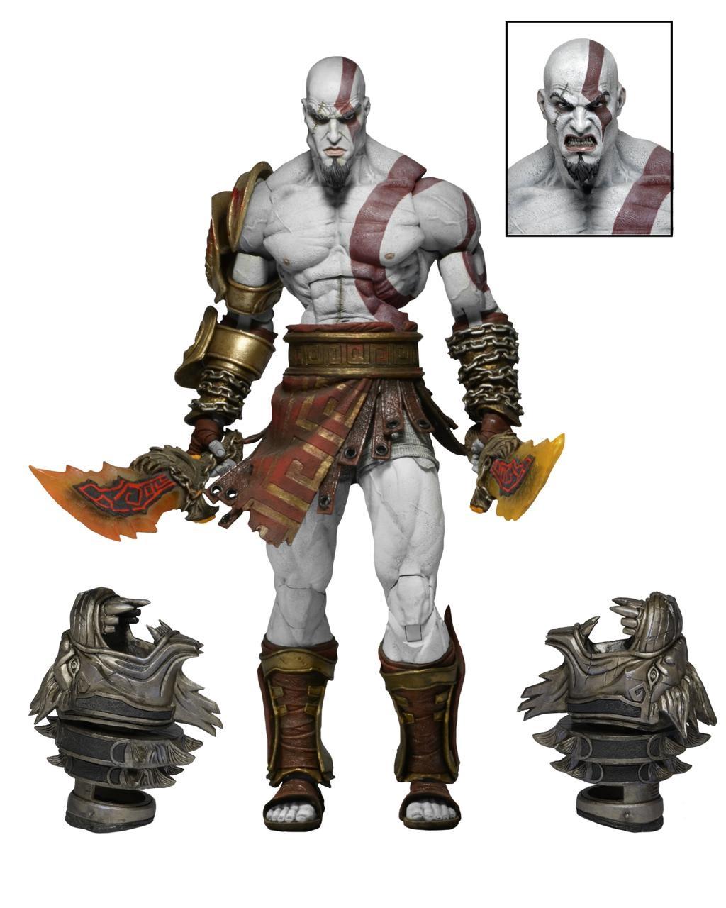 Фигурка God of War 3. Ultimate Kratos (17 см)Представляем вашему вниманию фигурку God of War 3. Ultimate Kratos, воплощающую собой протагониста легендарной серии игр «God of War» Кратоса.<br>