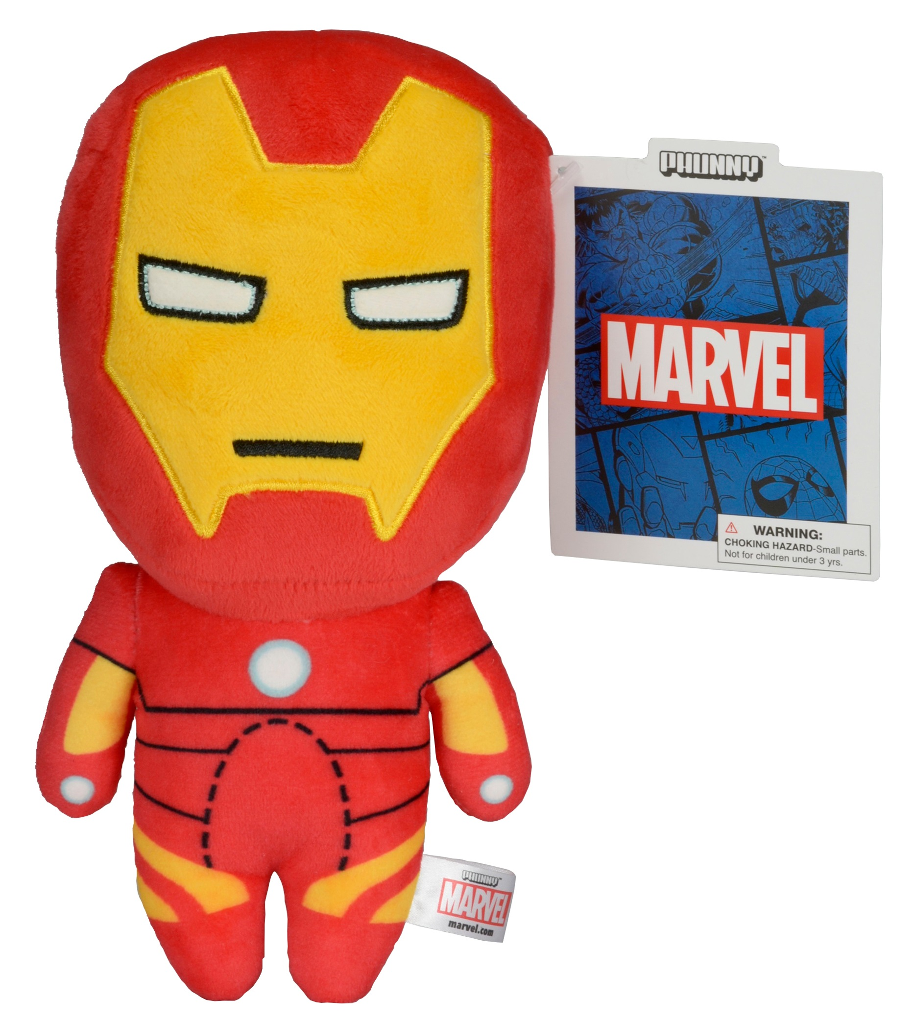 Фото Мягкая игрушка Marvel Phunnys. Iron Man (20 см) marvel phunny s мягкая игрушка iron man