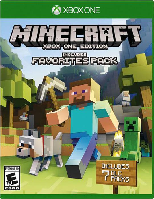 все цены на Minecraft. Favorites Pack [Xbox One]