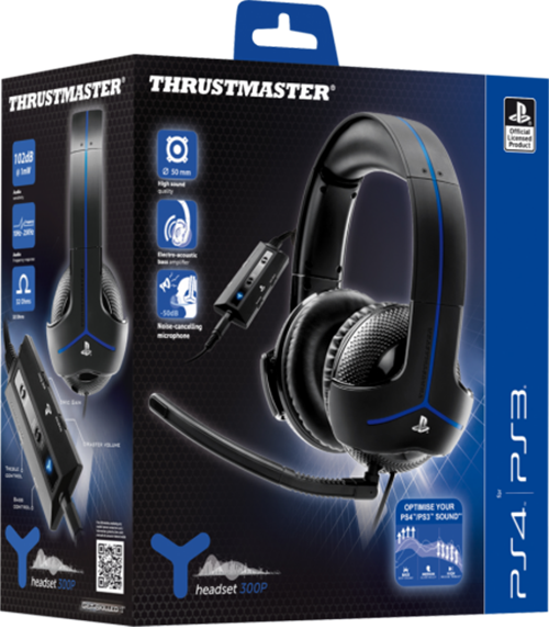 Фото Игровая гарнитура Thrustmaster Y300P EMEA Gaming Headset для PS4/PS3