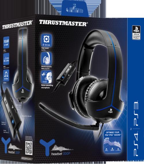 Игровая гарнитура Thrustmaster Y300P EMEA Gaming Headset для PS4/PS3Представляем вашему вниманию игровую гарнитуру Thrustmaster Y300P EMEA Gaming Headset &amp;ndash; первую игровую гарнитуру нового поколения с расширенным стерео &amp;ndash; стереогарнитуру USB со звукоусилением.<br>