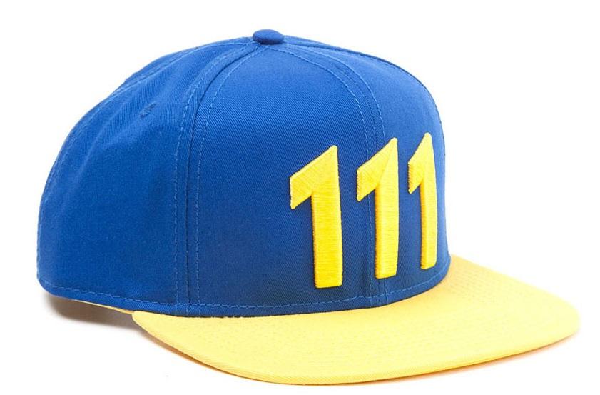 Бейсболка Fallout 4. Vault 111 (желтая)