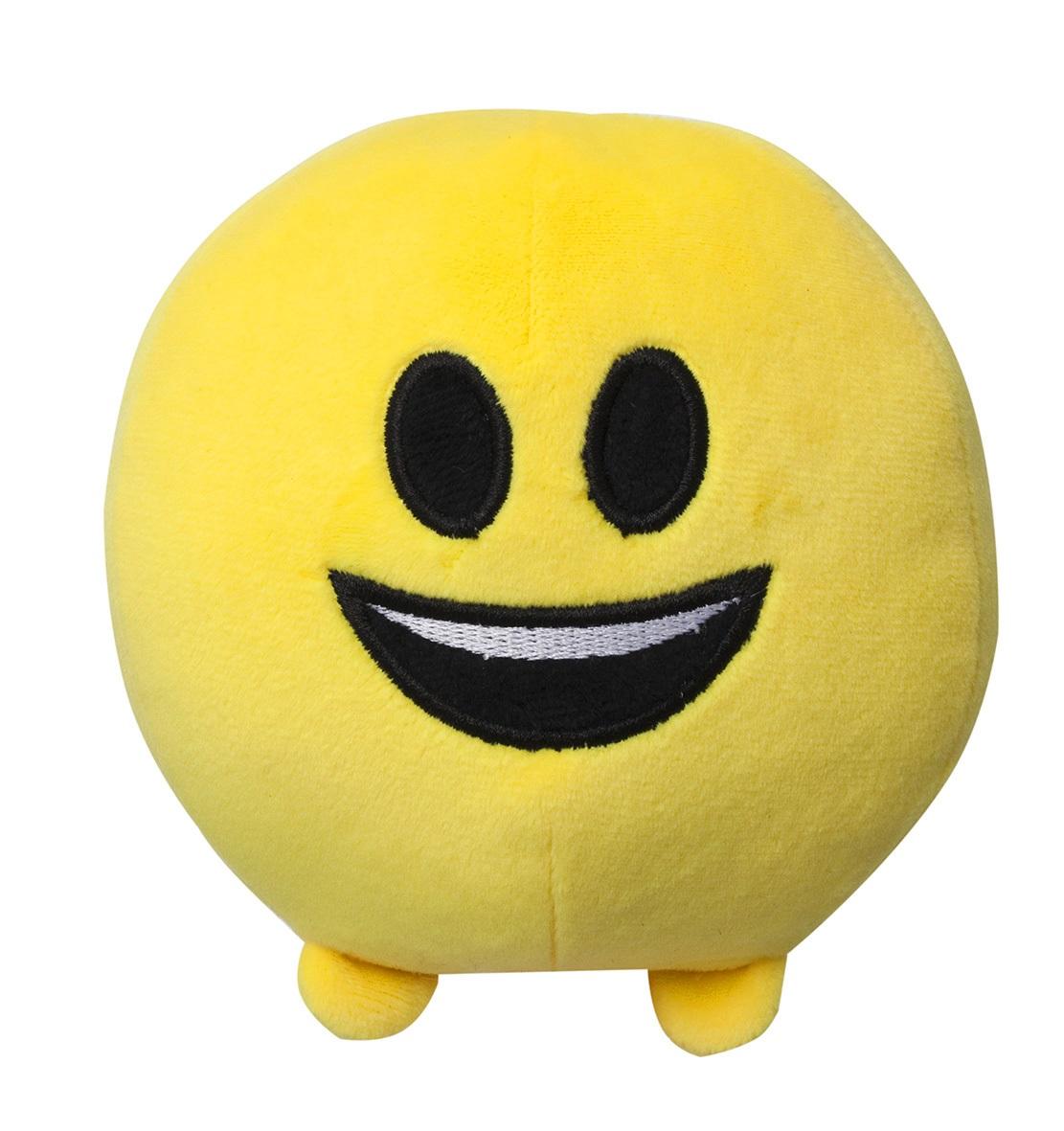 Мягкая игрушка Imoji. Улыбка (11 см)Представляем вашему вниманию мягкую игрушку Imoji. Улыбка в виде одного из смайлов самого популярного месенджера WhatsApp.<br>