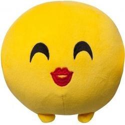 Мягкая игрушка Imoji. Поцелуй (11 см)Представляем вашему вниманию мягкую игрушку Imoji. Поцелуй в виде одного из смайлов самого популярного месенджера WhatsApp.<br>
