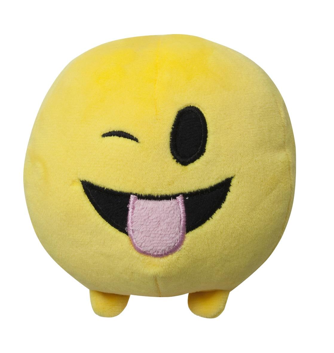 Мягкая игрушка Imoji. Дразнится (11 см)Представляем вашему вниманию мягкую игрушку Imoji. Дразнится в виде одного из смайлов самого популярного месенджера WhatsApp.<br>