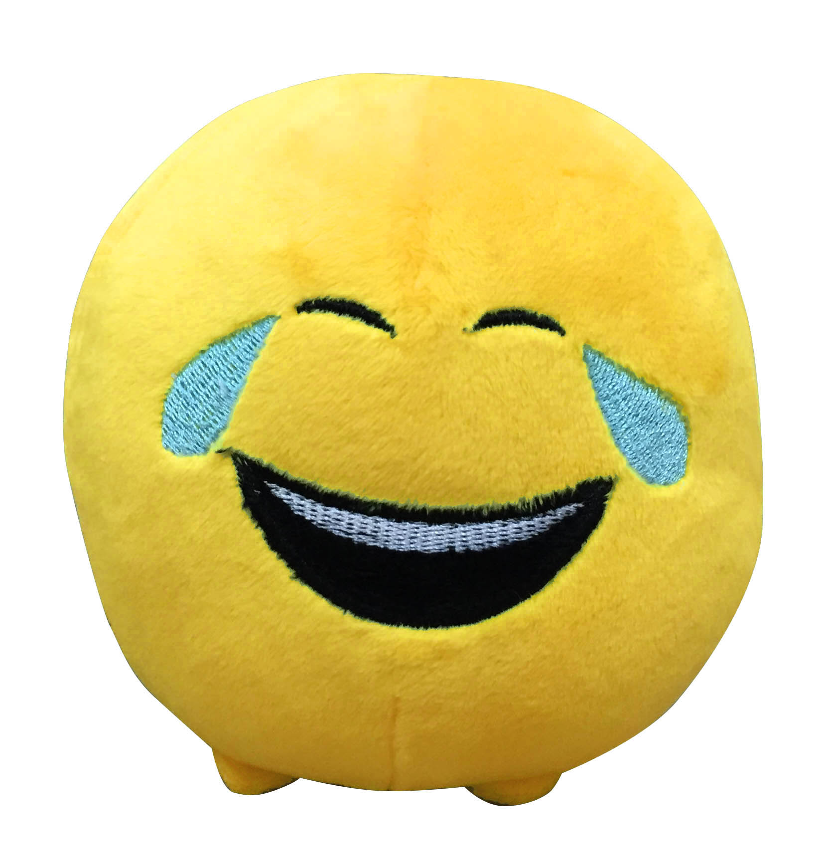 Мягкая игрушка Imoji. Слёзы радости (11 см)Представляем вашему вниманию мягкую игрушку Imoji. Слёзы радости в виде одного из смайлов самого популярного месенджера WhatsApp.<br>
