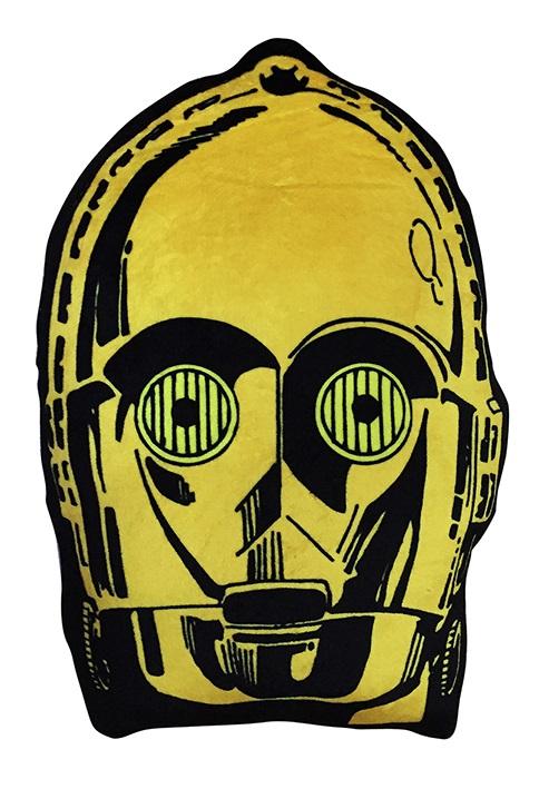 Мягкая игрушка-подушка Star Wars. C-3PO (20 см)