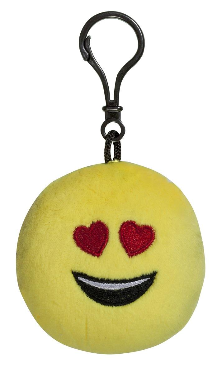 Брелок Imoji. Влюблён (7 см)Представляем вашему вниманию брелок Imoji. Влюблён в виде одного из смайлов самого популярного месенджера WhatsApp.<br>