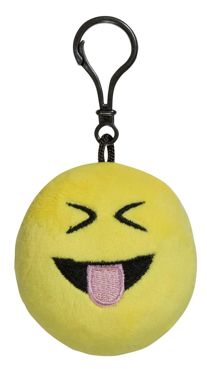 Брелок Imoji. Дразнится и сильно смеётся (7 см)Представляем вашему вниманию брелок Imoji. Дразнится и сильно смеётся в виде одного из смайлов самого популярного месенджера WhatsApp.<br>