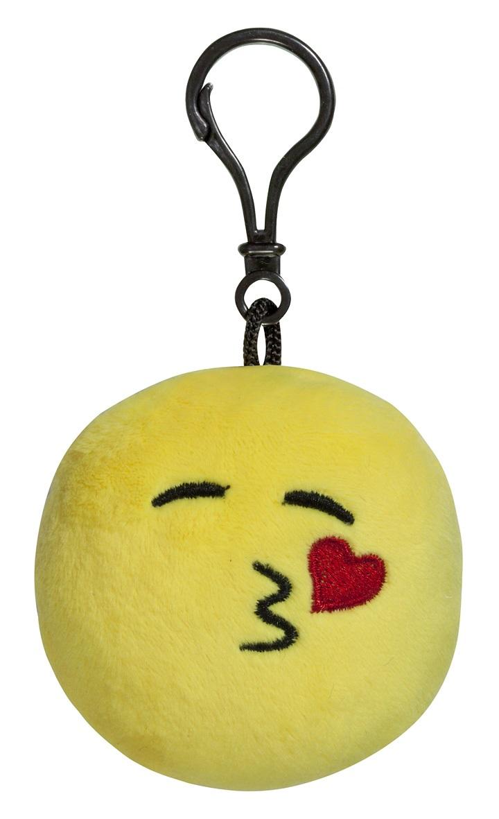 Брелок Imoji. Воздушный поцелуй (7 см)Представляем вашему вниманию брелок Imoji. Воздушный поцелуй в виде одного из смайлов самого популярного месенджера WhatsApp.<br>
