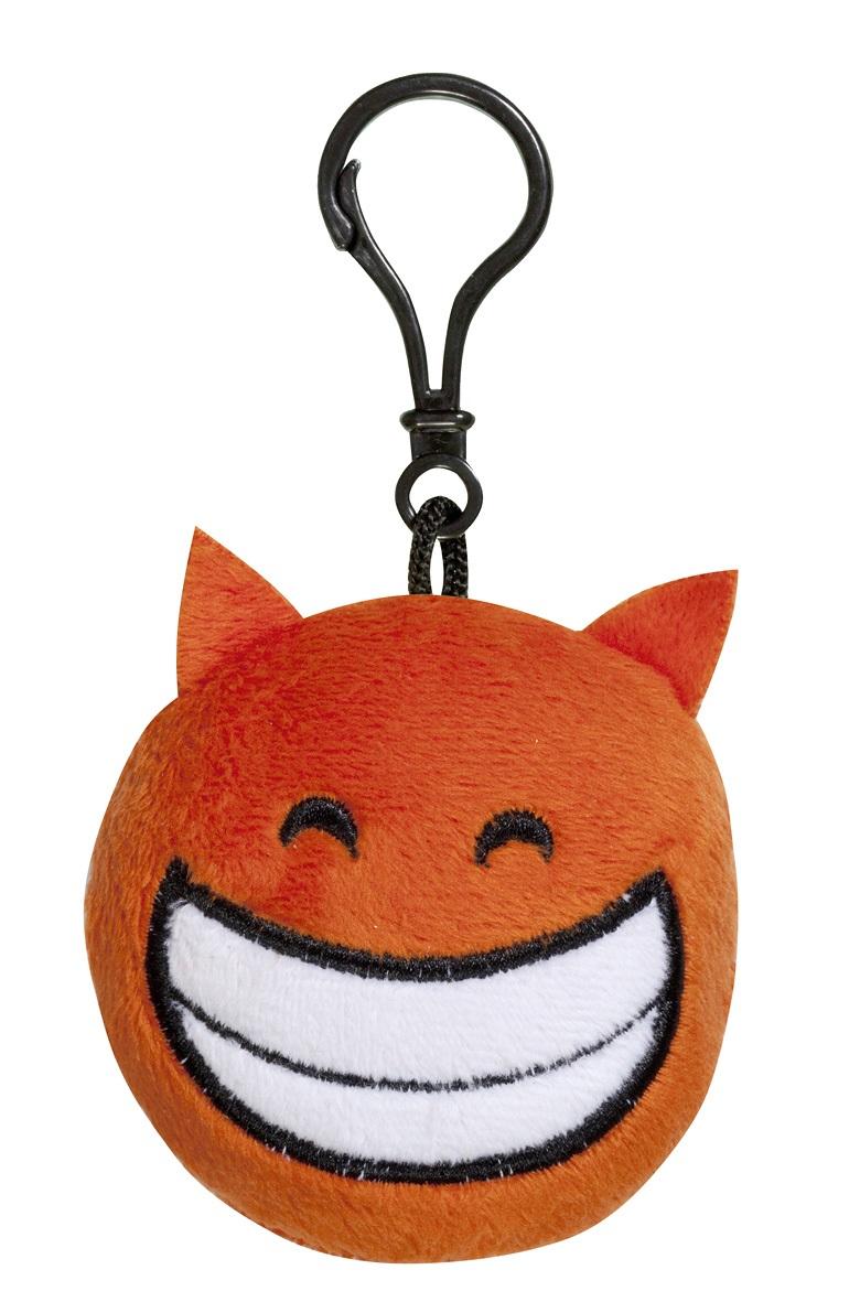 Брелок Imoji. Добрый чертёнок (7 см)Представляем вашему вниманию брелок Imoji. Добрый чертёнок в виде одного из смайлов самого популярного месенджера WhatsApp.<br>