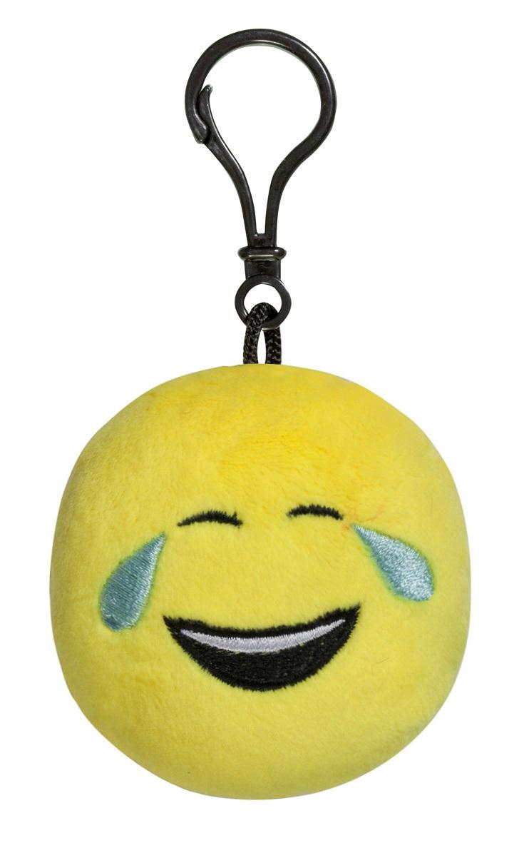 Брелок Imoji. Слёзы радости (7 см)Представляем вашему вниманию брелок Imoji. Слёзы радости в виде одного из смайлов самого популярного месенджера WhatsApp.<br>