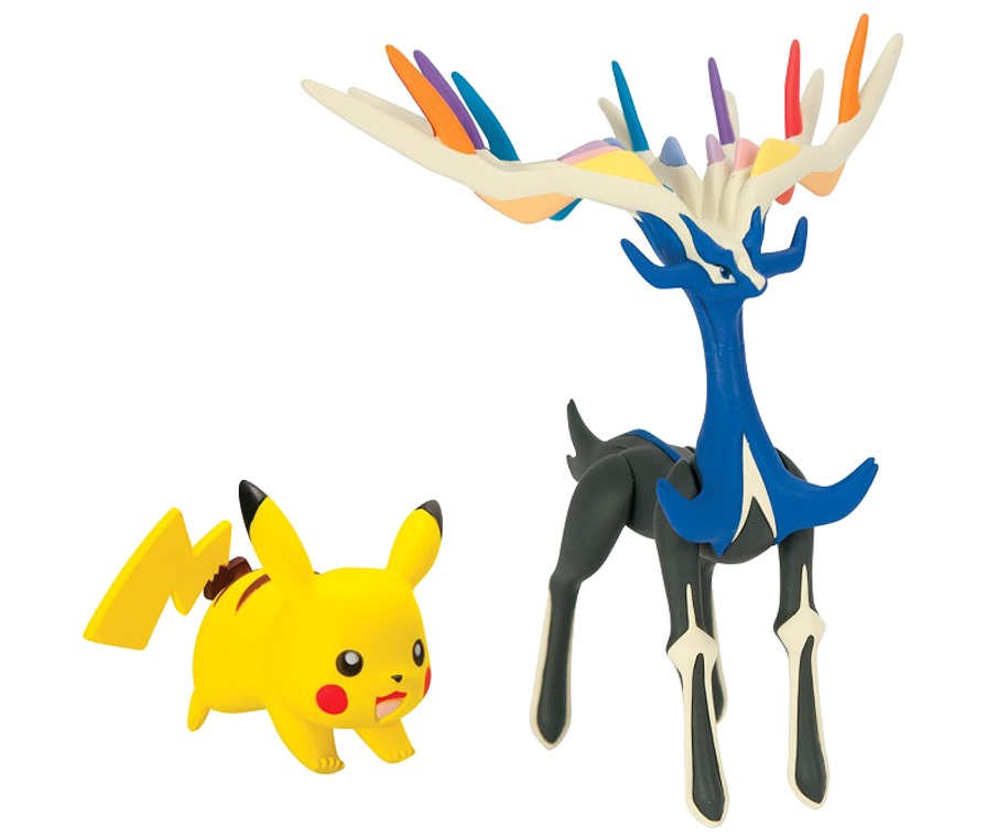 Набор фигурок Pokemon XY. Xerneas & Pikachu lno 135pcs pikachu pokemon building block