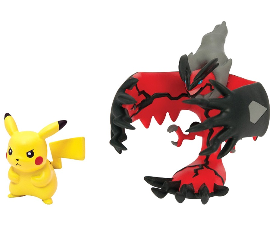Набор фигурок Pokemon XY. Yveltal &amp; PikachuПредставляем вашему вниманию набор фигурок Pokemon XY. Yveltal &amp;amp; Pikachu, созданный по мотивам вселенной Pok&amp;#233;mon.<br>