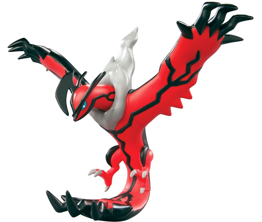 Фигурка Pokemon XY. Yveltal (18 см) телевизор samsung ue32m5550 32 дюймов smart tv full hd
