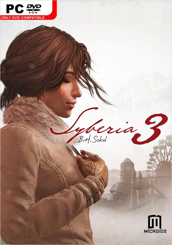 Syberia3[PC]Закажите стандартное издание игры Syberia 3 для PC до 17:00 часов 29 ноября 2016 года и получите дополнительные 50 бонусов на вашу карту.<br>