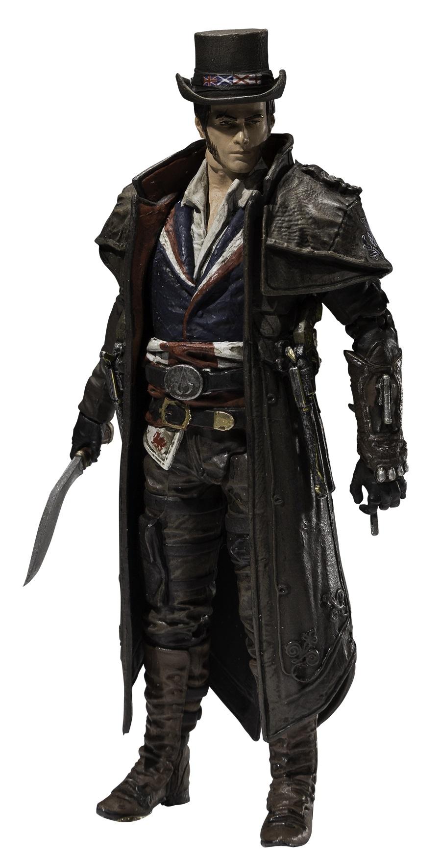 Фигурка Assassins Creed. Series 5. Union Jacob Frye (15 см)Представляем вашему вниманию фигурку Assassins Creed. Series 5. Union Jacob Frye, воплощающую собой одного из персонажей популярной серии игр Assassins Creed.<br>