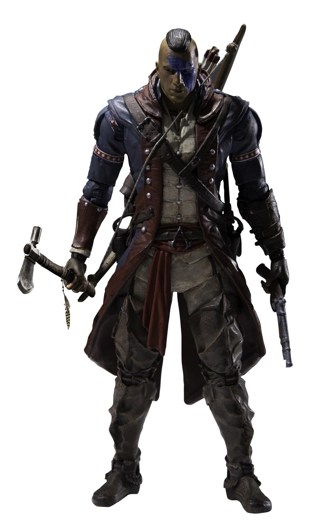 Фигурка Assassins Creed. Series 5. Revolutionary Connor (15 см)Представляем вашему вниманию фигурку Assassins Creed. Series 5. Revolutionary Connor, воплощающую собой одного из персонажей популярной серии игр Assassins Creed.<br>