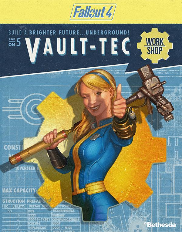 Fallout 4. Vault-Tec Workshop. Дополнение (Цифровая версия)