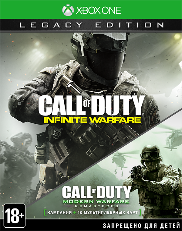 цена Call of Duty: Infinite Warfare Legacy Edition [Xbox One] онлайн в 2017 году