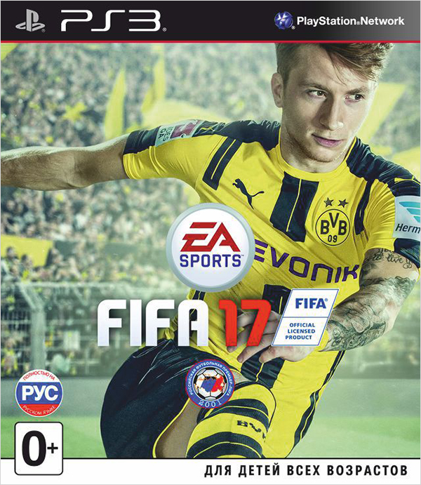 FIFA 17 [PS3]FIFA 17 изменит ваши представления об игровом процессе, соперничестве и эмоциях от игры. FIFA 17 и погрузит вас в невероятную атмосферу футбола, где кипят настоящие страсти, испытать которые можно лишь в неповторимом мире этой игры.<br>