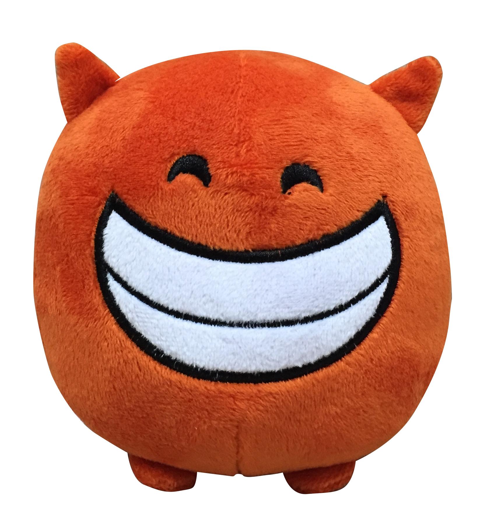 Мягкая игрушка Imoji. Добрый чертёнок (11 см)Представляем вашему вниманию мягкую игрушку Imoji. Добрый чертёнок в виде доброго чертёнка.<br>