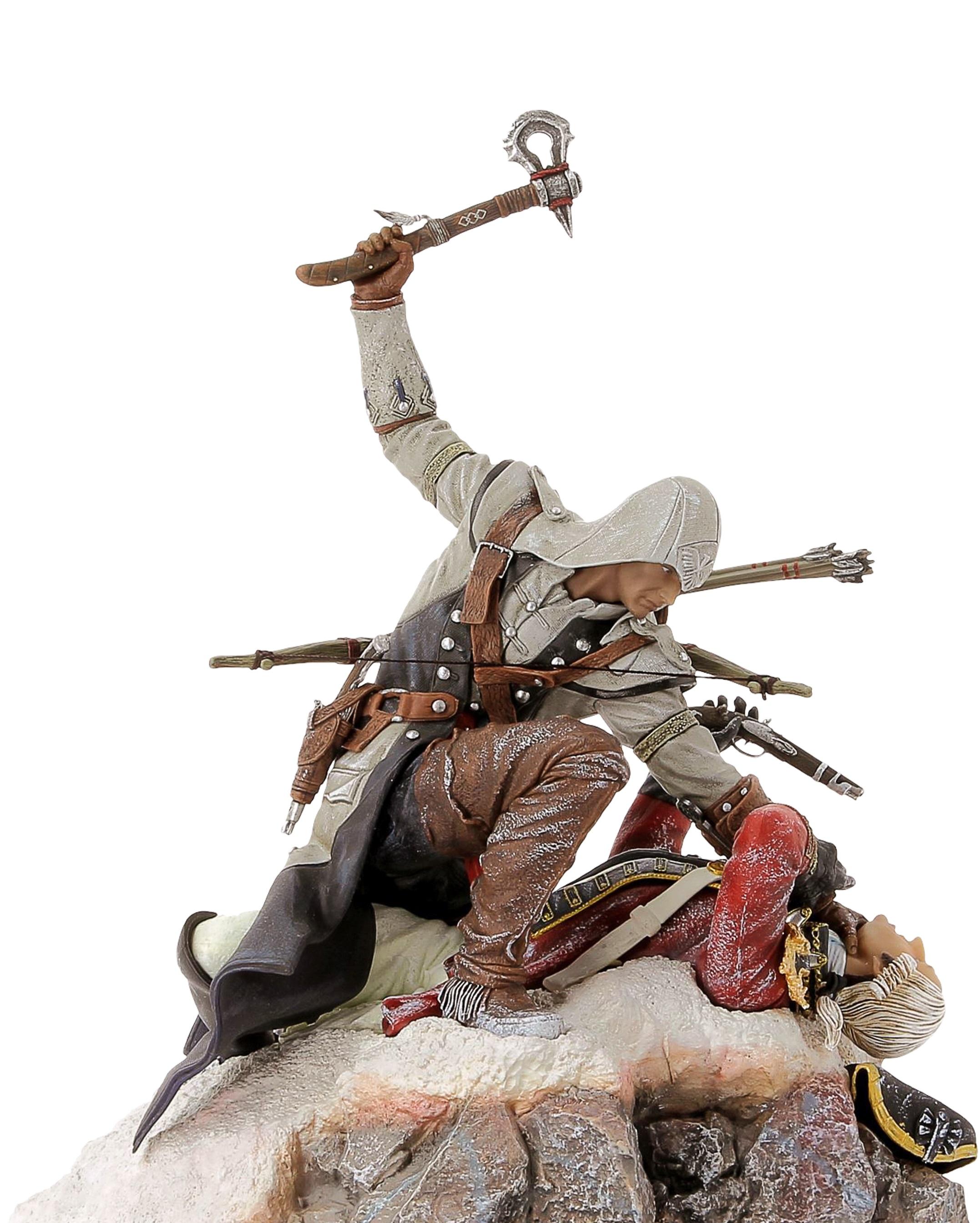 Фигурка Assassins Creed III: Connor – The Last Breath (28 см)Ubicollectibles представляет новинку – фигурку Assassins Creed III: Connor – The Last Breath  – воссоздание сцены из захватывающего трейлера-анонса Assassins Creed III.<br>