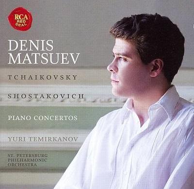 Denis Matsuev: Piano Concertos – Tchaikovsky P.I. & Shostakovich D.D. (CD) борис березовский concertos pour piano 2