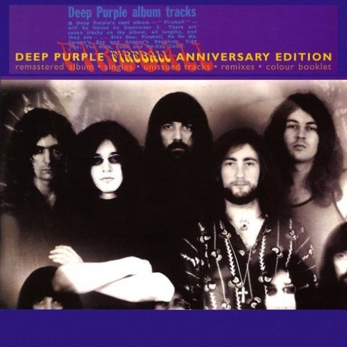 Deep Purple: Fireball – 25th Anniversary Edition (CD)