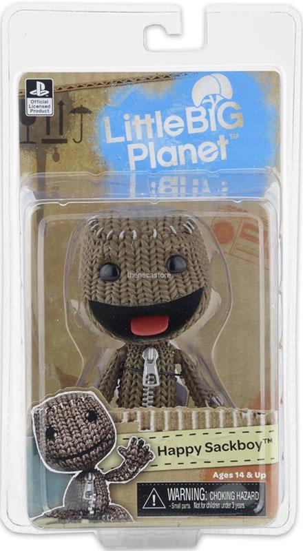 Фигурка LittleBigPlanet Series 2. Happy Sackboy (13 см)