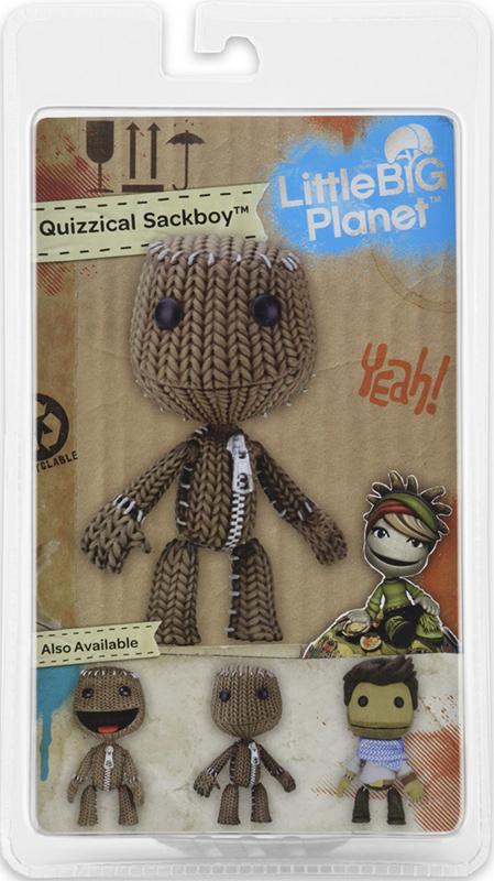 Фигурка LittleBigPlanet Series 2. Quizzical Sackboy (13 см)Представляем вашему вниманию фигурку LittleBigPlanet Series 2. Quizzical Sackboy, выпущенную по мотивам игры LittleBigPlanet.<br>