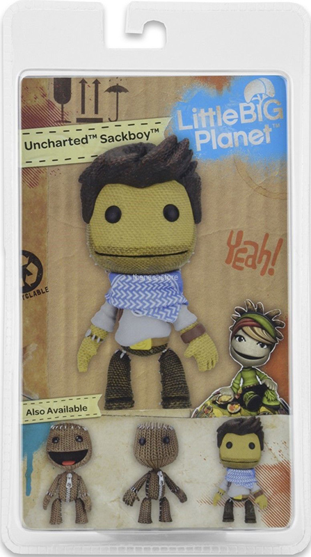 Фигурка LittleBigPlanet Series 2. Uncharted Sackboy (13 см)Представляем вашему вниманию фигурку LittleBigPlanet Series 2. Uncharted Sackboy, выпущенную по мотивам игры LittleBigPlanet.<br>