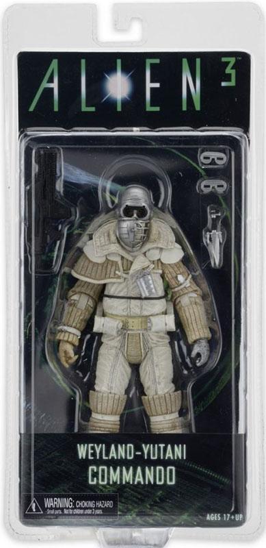 Фигурка Aliens Series 8. Weyland Yutani Commando (17 см)Представляем вашему вниманию фигурку Aliens Series 8. Weyland Yutani Commando (17 см), выпущенную по мотивам серии фильмов Чужой<br>