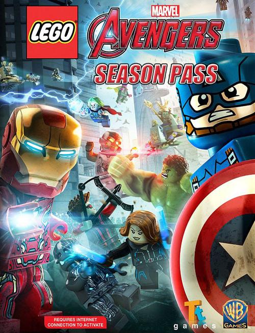 LEGO Marvel Мстители (Avengers). Season Pass [PC, Цифровая версия] (Цифровая версия)