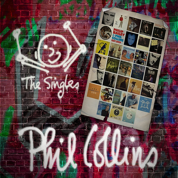 Phil Collins: Singles (4 LP) phil collins singles 4 lp