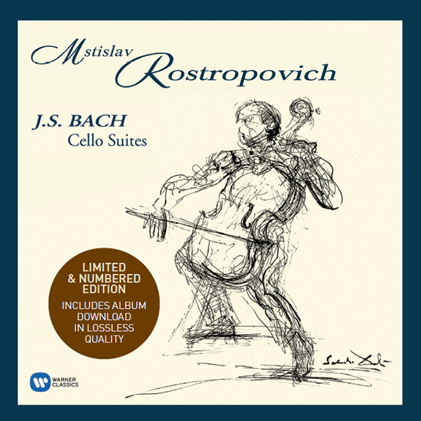Mstislav Rostropovich. J.S.Bach: Cello Suites (4 LP)