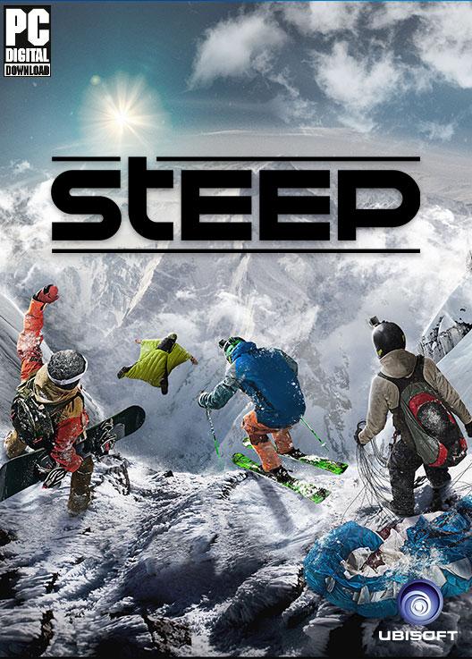 Steep  (Цифровая версия)В игре Steep прокатитесь по огромному открытому миру Альп и Аляски, где всегда много снега и гонки никогда не заканчиваются.<br>