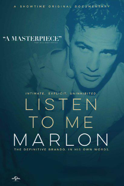 Послушай меня, Марлон Listen to Me MarlonСоздателям фильма Послушай меня, Марлон  удалось, что называется, получить доступ к первоисточнику &amp;ndash; аудиозаписям Брандо, сделанным самим актером в домашней обстановке, во время деловых встреч, пресс-конференций, а также (внимание!) сеансов гипноза и психотерапии.<br>